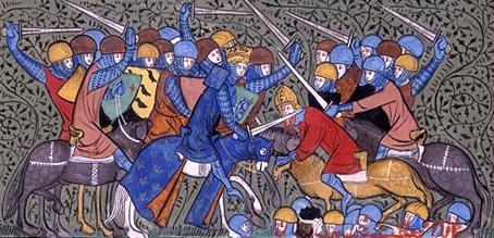 Carlos Martel derrota os sarracenos