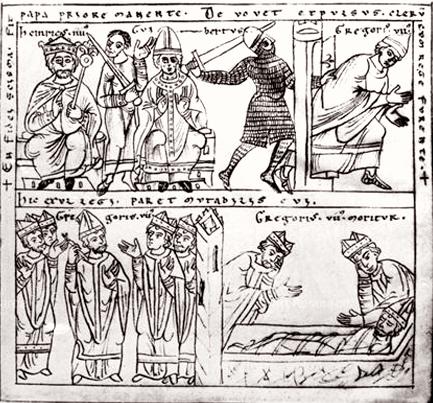 Gregório VII enfrentou muitas perseguições por seu governo forte da Igreja