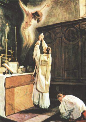O Santo Sacrifício da Missa