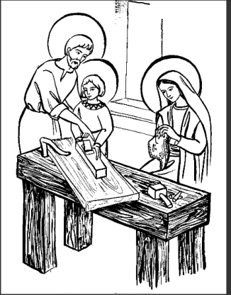 A Sagrada Família: Jesus, Maria e Jossé