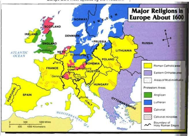Europa em 1600