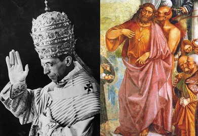Pio XII vs o Anticristo