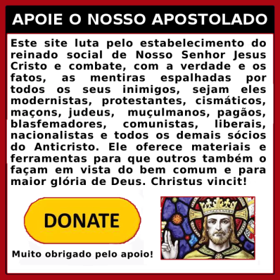 Apoie nosso Apostolado