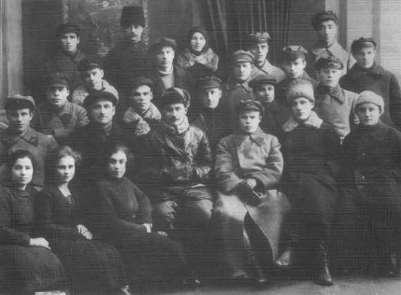 Grupo de funcionários da Cheka m Uman (1920s)