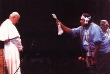 João Paulo II com pagãos 2