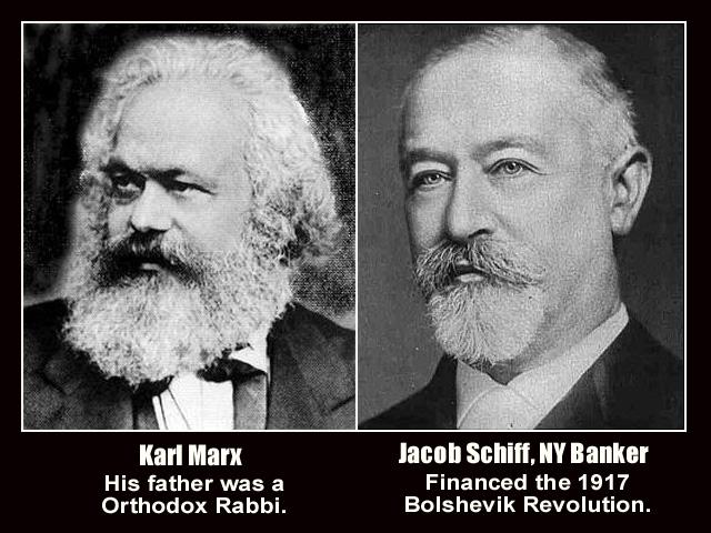 Karl Marx e Jacob Schiff