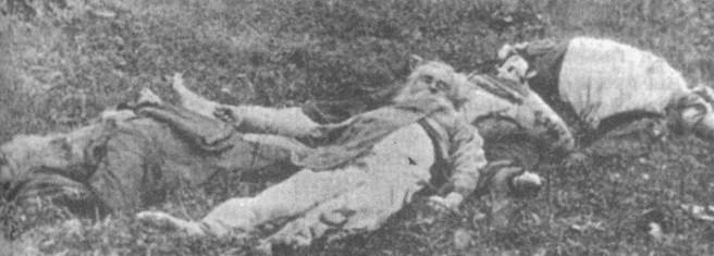 Monges executados pela Cheka - 1919