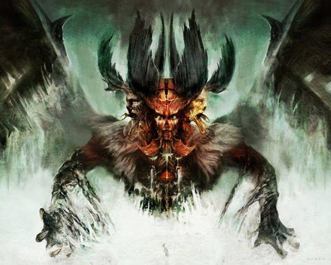 O Lucifer de Dante