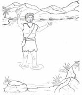 São João Batista prepara o caminho para o Evangelho de Cristo
