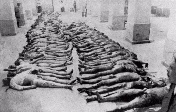 Vítimas de Cheka - Kiev 1919