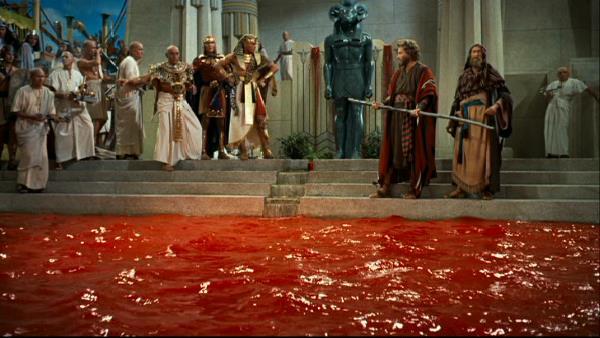 Moisés Arraão e o rio de sangue