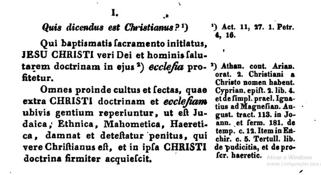 São Pedro Canísio. que dicendus est verus Christianus